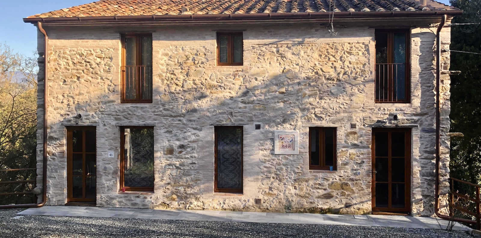 OUR STONE HOUSE NEAR LUCCA